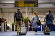 An europäischen Fughäfen könnte für amerikanische Touristen bald wieder eine Visums-Pflicht zum Tragen kommen. (Symbolbild / Keystone Archiv)