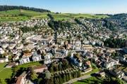 Blick auf die Gemeinde Kriens. (Archivbild: Philipp Schmidli)
