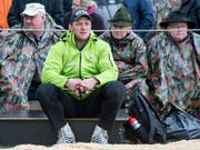 Martin Grab (im Vordergrund) muss pausieren (Bild: KEYSTONE/ALEXANDRA WEY)