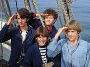 Ein Inserat in der Zeitung suchte in den 1960er-Jahren nach «vier verrückten Jungs». Gefunden wurden sie: The Monkees. (Bild: PD/Warner)