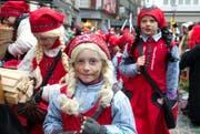 ImFarbenfroh: das Kindermonster in Luzern. (Bild: Eveline Beerkircher / Neue LZ)