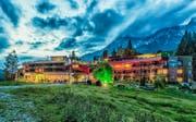 Auf hohem Niveau: Das Bio-Lifestyle-Hotel Forsthofalm in Leogang hebt sich nicht nur durch seine Lage auf 1050 Metern ab. (Bild: PD)