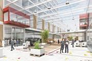 Der Bebauungsplan sieht acht Baufelder vor. Davon ist mindestens ein Drittel für Produktion und Logistik reserviert.