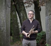 Der oberste Blasmusikant im Kanton, Daniel Elmiger (52), tritt ab.Bild: Pius Amrein (Luzern, 8. März 2017)