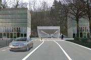 Ist beerdigt: Stadttunnel Zug. (Bild: Visualisierung PD)