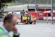 Beim Bahnunfall wurden 35 Menschen verletzt. (Symbolbild Keystone)