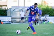 Er schiesst das 1:0 für Luzern: Tomi Juric. (Bild: Martin Meienberger/freshfocus)