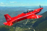 Wird bald auch in Australien eingesetzt: Das Schweizer Trainingsflugzeug PC-21. (Bild: Katsuhiko TOKUNAGA/DACT,INC)
