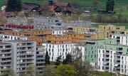 Im Kanton Zug standen per Ende Juni 260 Wohnungen frei. (Archivbild Stefan Kaiser/Neue ZZ)