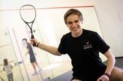 Zählt zu den hoffnungsvollsten Nachwuchsspielern in der Schweiz: der 16-jährige Roman Allinckx aus Kriens. (Bild Stefan Kleiser)