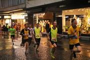 Momentan sind die Männer unterwegs. In Kürze wird die Elite ihren Lauf starten. (Bild: Ramona Geiger / luzernerzeitung.ch)
