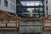 Blick auf das Pflegeheim Zunacher in Kriens. (Bild: Archiv Boris Bürgisser / Neue LZ)