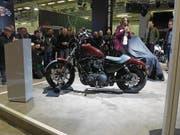 Weltpremiere bei Harley-Davidson: Sportster Iron 1200. (Bild: Daniel Huber)
