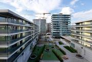 Angespannter Wohnungsmarkt in Zug. Im Bild der Feldpark in Zug (Archivbild). (Bild: Stefan Kaiser)