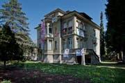 Die besetzte Villa an der Obergrundstrasse 99 in Luzern. (Bild: Pius Amrein/Neue LZ)