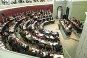Der Luzerner Kantonsrat ist grossmehrheitlich für eine Revision des Steuergesetzes. (Bild: Roger Grütter / Neue LZ)