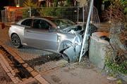 Dieser Unfall endete tödlich für die 28-jährige Autofahrerin. (Bild: Luzerner Polizei)