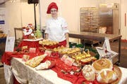 Die Kreationen von Angela Bissegger aus Spiez, Schweizer Meisterin Bäckerei-Konditorei (Bild PD)