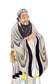 Darstellung von Konfuzius. (Bild: Getty)