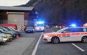 Die Unfallstelle in Ried-Muotathal. (Bild: Kantonspolizei Schwyz)