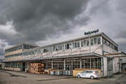 Die Belimed AG, sie stellt Medizinaltechnik her, schliesst Ende August in Ballwil ihren Betrieb. Das Areal hat die Anliker-Gruppe gekauft. (Bild Boris Bürgisser)