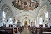 In der 90-jährigen Kirche St. Ulrich in Schongau gibt es viel zu entdecken. (Bild Pius Amrein)