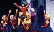Die Voice-Steps-Show begeisterte das Publikum im Theater Casino Zug. (Bild: Werner Schelbert (Zug, 24. Februar 2018))