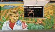 Szenen aus dem Farc-Lager im kolumbianischen Pondores. (Bild: Sandra Weiss (Pondores, 17. September 2017))