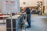 Der Lesesaal. (Bild: Nadia Schärli (Luzerm, 16. November 2017))