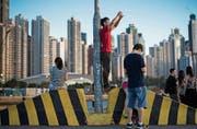 Eine Skyline, die höchstens noch die Touristen beeindruckt. (Bild: Jerome Favre/EPA (11. Juni 2017))
