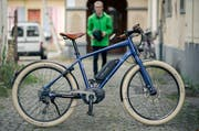 An E-Bikes sind Fahrraddiebe wenig interessiert. (Bild: Philipp Schmidli / Neue LZ)
