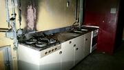 Der Brand hat die Küche zerstört. (Bild: Screenshot Video Tele 1)
