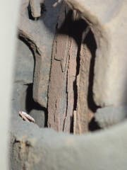 Rost soweit das Auge reicht: Bremsen eines polnischen Sattelschleppers. (Bild: Kantonspolizei Uri (Erstfeld, 13. Juli 2017))