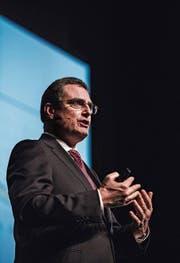 SNB-Präsident Thomas Jordan in Zug. (Bild: PD (19. September 2017))