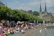 Impression vom Luzerner Fest 2014. (Bild: Pius Amrein / Neue LZ)