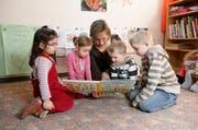 Die Stadt Luzern setzt auf Sprachförderung in Spielgruppen. Im Bild eine Spielgruppe aus Emmenbrücke. (Symbolbild/ Archiv Neue LZ)