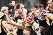 Die Jordan Guggenmusig trompetet schon seit 50 Jahren. (Bild: Jakob Ineichen (Schüpfheim, 11. Februar 2018))