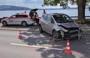 Der Unfallhergang ist Gegenstand der polizeilichen Abklärungen. (Bild: Geri Holdener, Bote der Urschweiz)