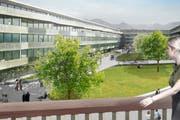 Ein Gebäude des Siegerprojekts «Pilatus», das ab Anfang 2013 in der Feldbreite gebaut werden soll. (Bild: PD)