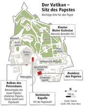Wichtige Orte für den Papst (Bild: Neue LZ)