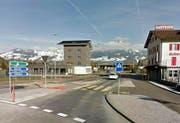 Der Abschnitt zwischen Gätzlikreisel bis nach der Autobahnauffahrt Richtung Luzern/Zürich soll mit der temporeduktion sicherer werden. (Bild: Google maps)