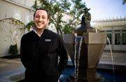 Jean-Denis Haas am Firmensitz von Industrial Light and Magic in San Francisco. (Bild pd)