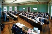 Der Zuger Kantonsrat dürfte noch dieses Jahr über das Projekt «Finanzen 2019» entscheiden.Bild: Stefan Kaiser (Zug, 22. Februar 2018) (Bild: Stefan Kaiser (Zug, 22. Februar 2018))