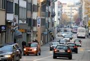 Mit dem Stadttunnel würde unter anderem die Neugasse vom Verkehr entlastet. (Bild: Archiv Stefan Kaiser / Neue ZZ)