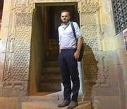 Jonas Lüscher auf Recherche in Kairo. (Bild: Beat Schweizer/pd)