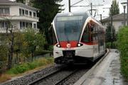 In Hergiswil hält die S-Bahn nur noch zweimal jeweils am Morgen und am Abend. (Bild: Robert Hess / Neue NZ)
