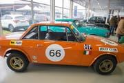 Ein Lancia Fulvia HF 1.6 Ralley-Fanalone, Baujahr 1969. (Bild: Dominik Wunderli (LZ))