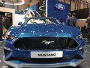 Der neue Ford Mustang in Action. Auch ein Blickfang am Auto-Salon in Genf. (Bild: PD)