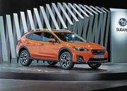 2016 als Concept-Studie vorgestellt, jetzt im Handel: Subaru XV AWD. (Bild: PD)