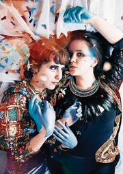 Auch die beiden Musikerinnen des Duos Eclecta sind Multi-Instrumentalisten und beehren die Duotage im Neubad. (Bild: PD)